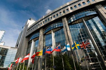 Parlamento europeo a Bruxelles