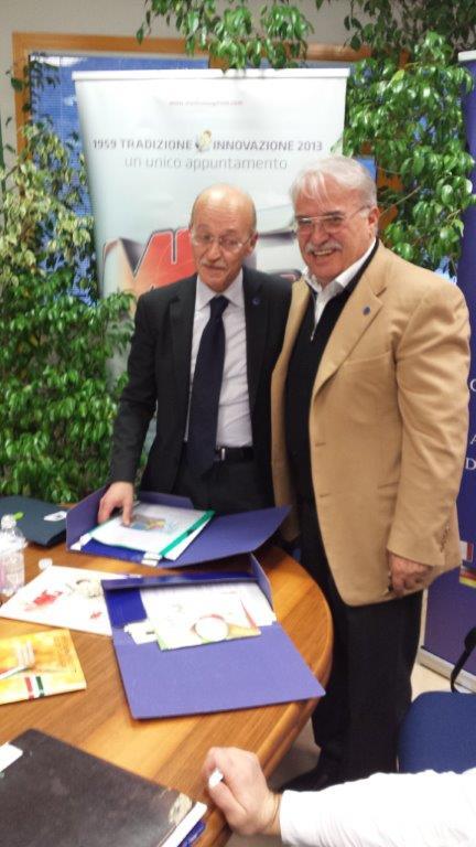 Ferdinando Buonocore e Fausto Bortolot