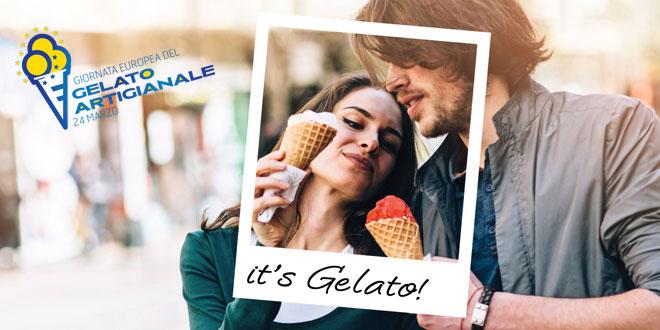 """""""IT'S GELATO"""" 4. Europäischer Tag des handwerklich hergestellten Speiseeises"""