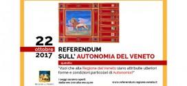 Referendum consultivo per l'autonomia del Veneto del 22 ottobre 2017 – vademecum elettore