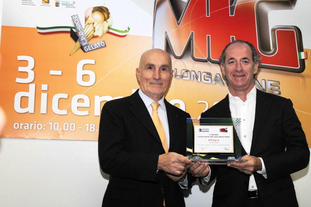 Consegna Premio Innovazione MIG-IFI-SpA