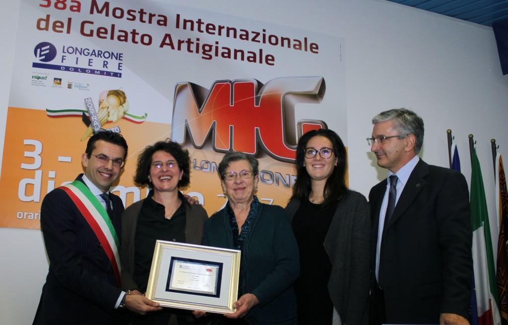 Consegna Premio Mastri Gelatieri Famiglia Vivoli