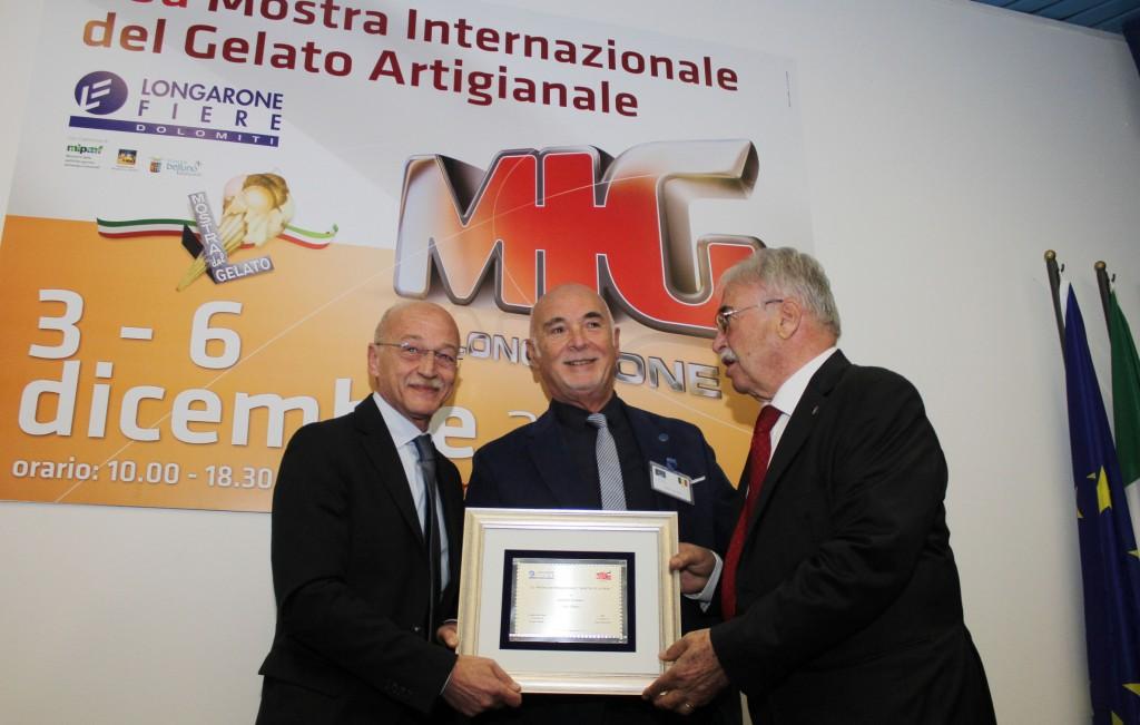 Consegna Premio Mastro Gelatiere Ignazio Di Maio