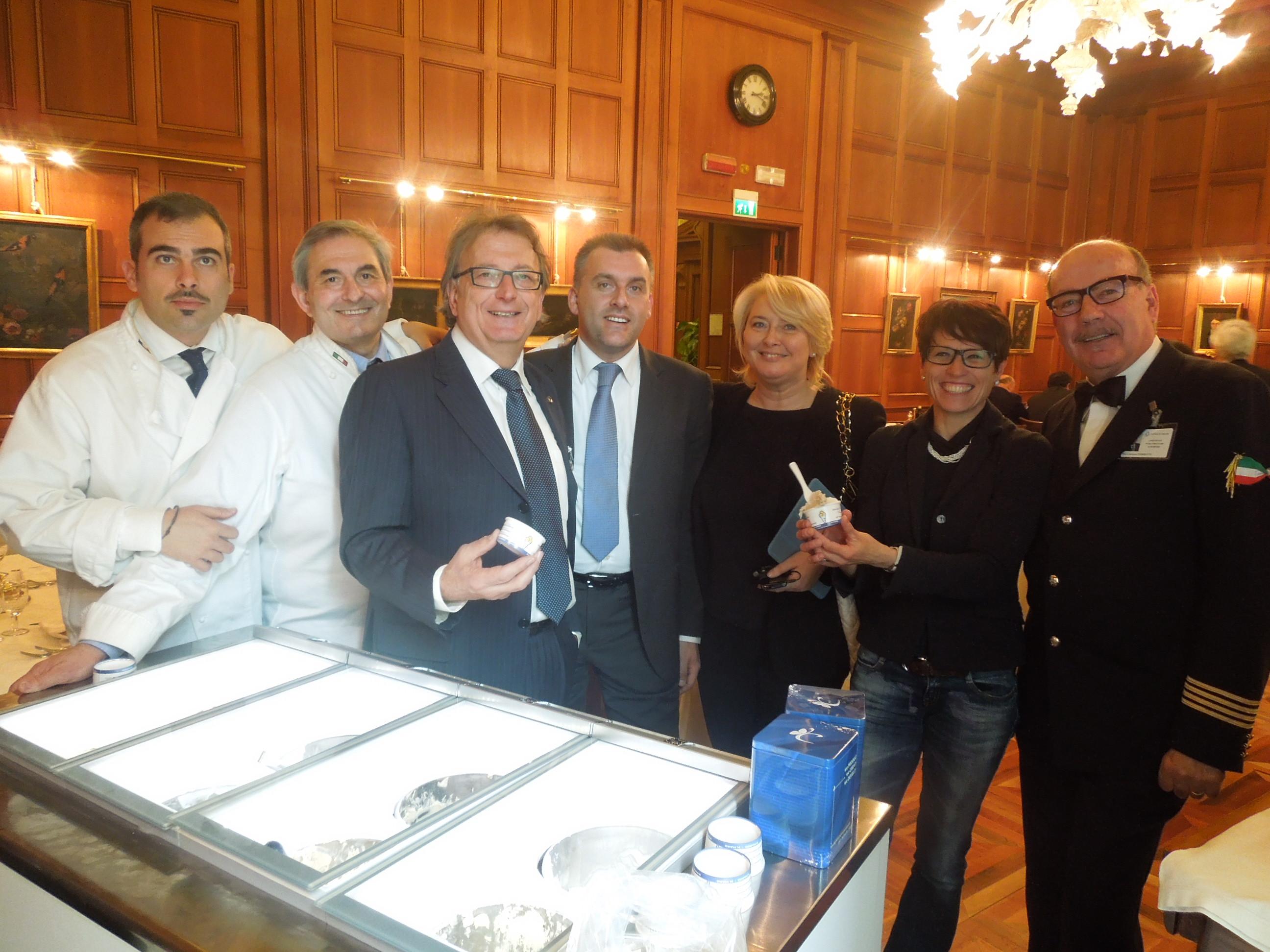 Longarone fiere dolomiti promuove il gelato artigianale al for News parlamento italiano